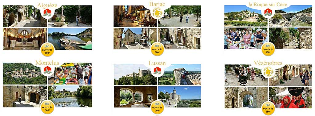 Villages-de-caractere-et-plus-beaux-villages-de-France-Gard